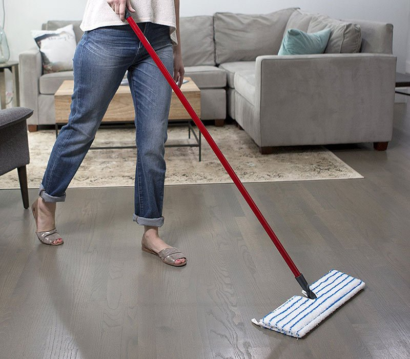 O-Cedar Flip Mop for floor cleaning
