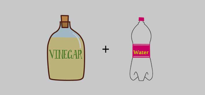 Vinegar-and-Hot-Water-Method-to-clean-a-laminate-floor