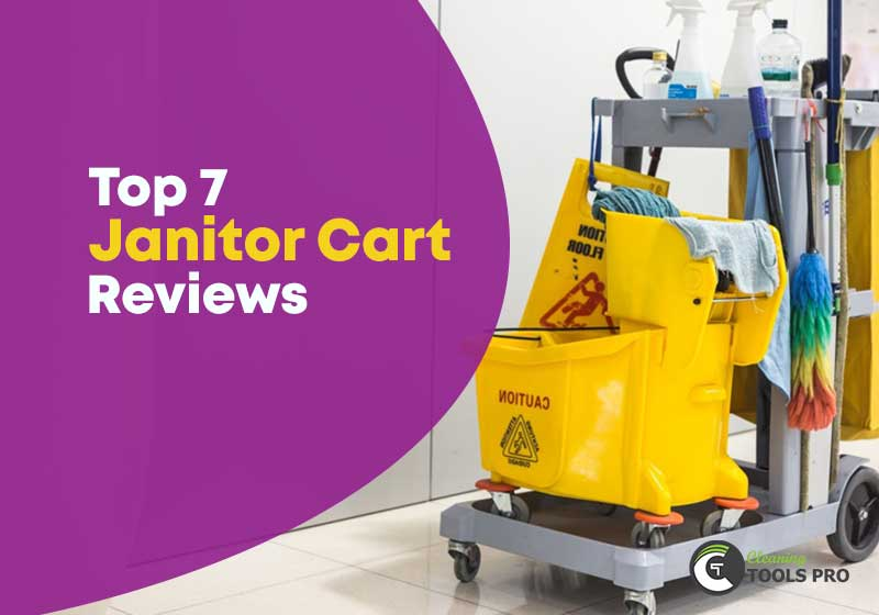 Top-7-Janitor-or-Housekeeping-Cart-Reviews
