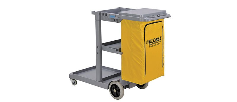 Global Janitor Cleaning Cart