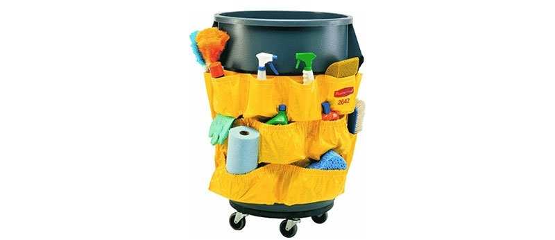 Rubbermaid Janitorial Caddy Bag