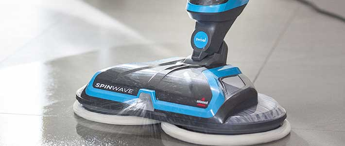 Bissell-Spinwave-Cordless-spray-Mop
