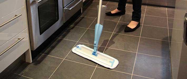 E-Cloth Aqua Spray mop deep cleaning mop