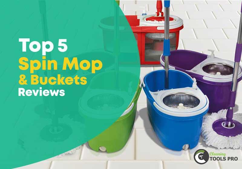 top-5-best-spin-mop-&-buckets-reviews